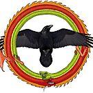 Raven Ouroboros 2 by Moonwater