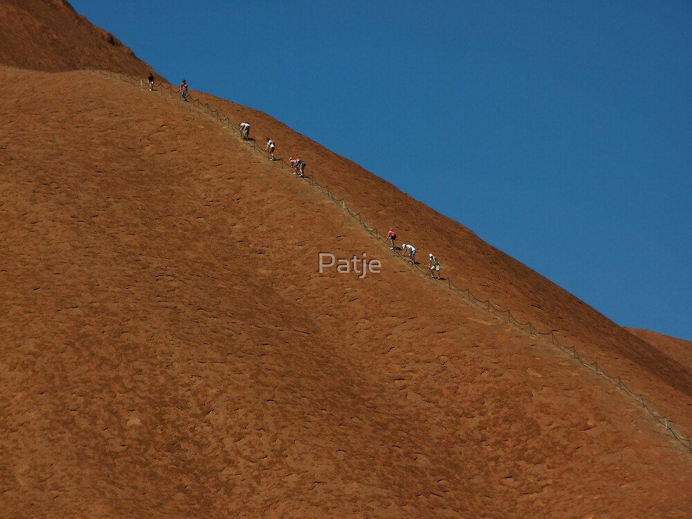 Ululuru -Ayers Rock- by Patje