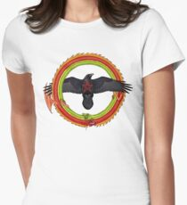 Raven Ouroboros Women's Fitted T-Shirt
