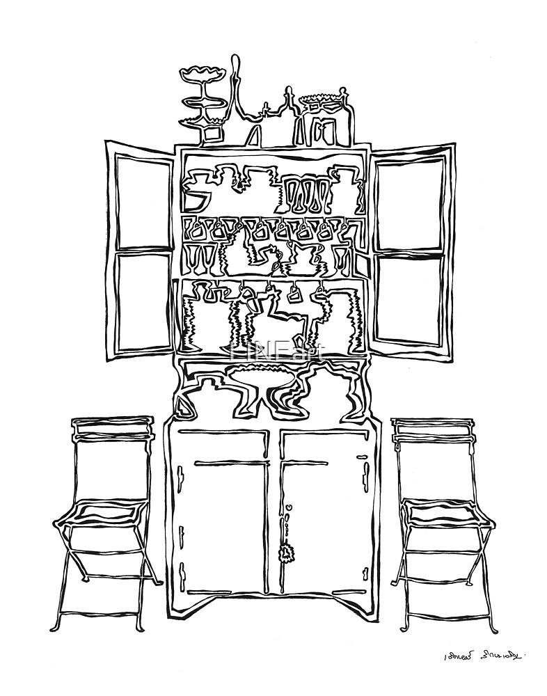 LINE : Body Cupboard by LINEart