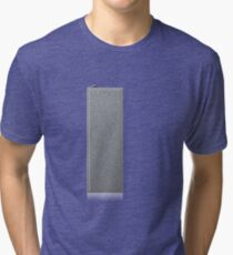 Glitch Groddle Land cubicle wall right Tri-blend T-Shirt