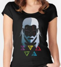 The witcher 3, Geralt Women's Fitted Scoop T-Shirt