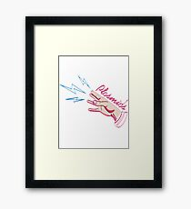 Plasmids Framed Print