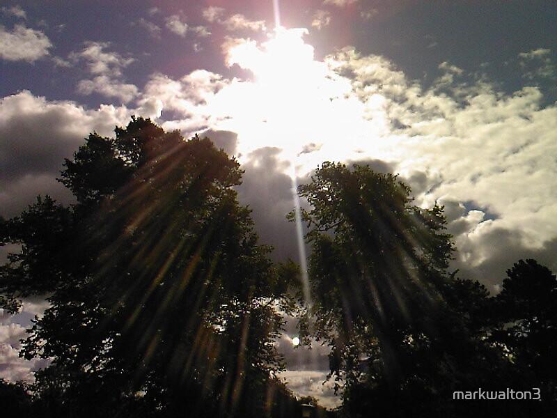 Sheffield sunbeams at sunrise by markwalton3