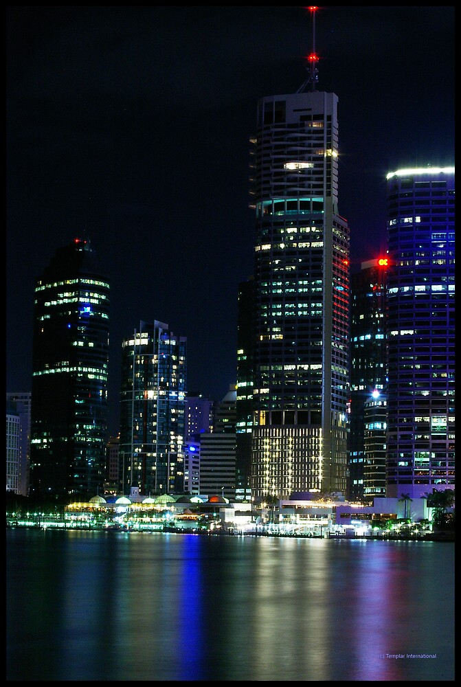 City at night, City of light by Andrew Murray