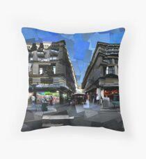 Flinders Lane ii Throw Pillow