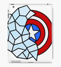 Captain America Geometric iPad Case/Skin