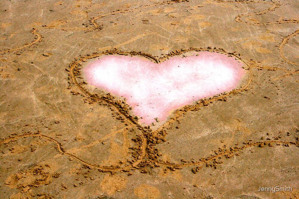 Sand Heart by JennySmith