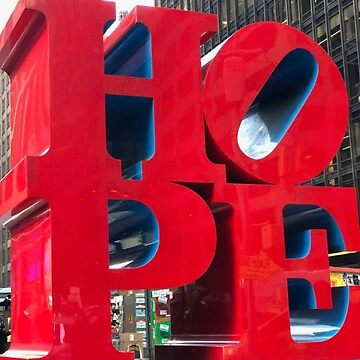 NYC HOPE Sculpture by LWPerez
