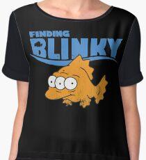 Finding Blinky Chiffon Top