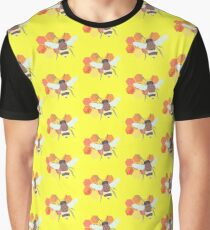 Don't Worry, Bee Happy Graphic T-Shirt