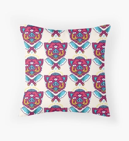 Maiale Throw Pillow