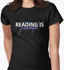 READING IS FUNDAMENTAL Womens Fitted T-Shirt