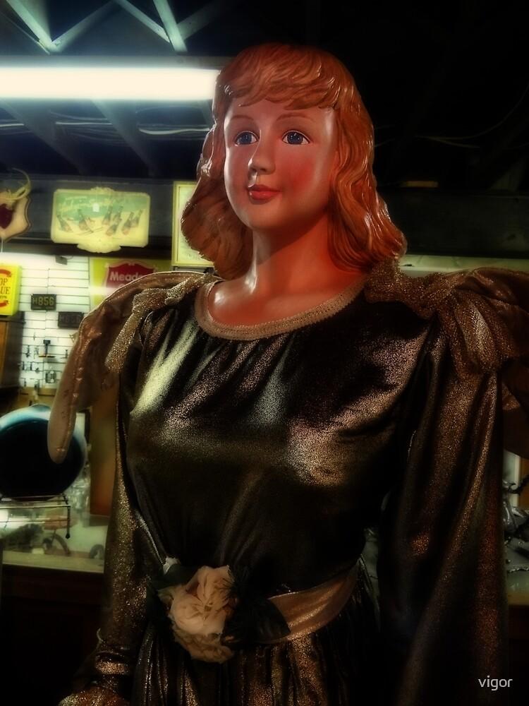 A big angel by vigor