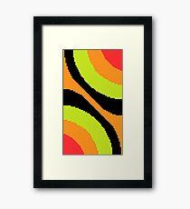 Pixel Art Wallpaper Framed Print