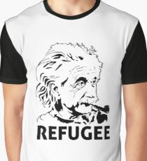 Einstein Refugee Graphic T-Shirt