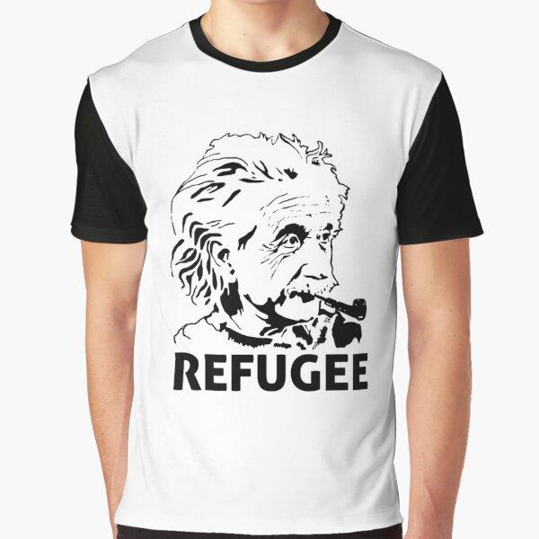 Einstein Refugee Graphic T-Shirt