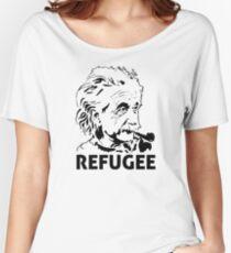 Einstein Refugee Women's Relaxed Fit T-Shirt