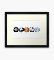 Five of Thirteen Alternate - The 100 Framed Print