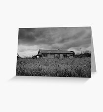House of Echoes Greeting Card