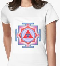 LAKSHMI YANTRA YA-04 Women's Fitted T-Shirt