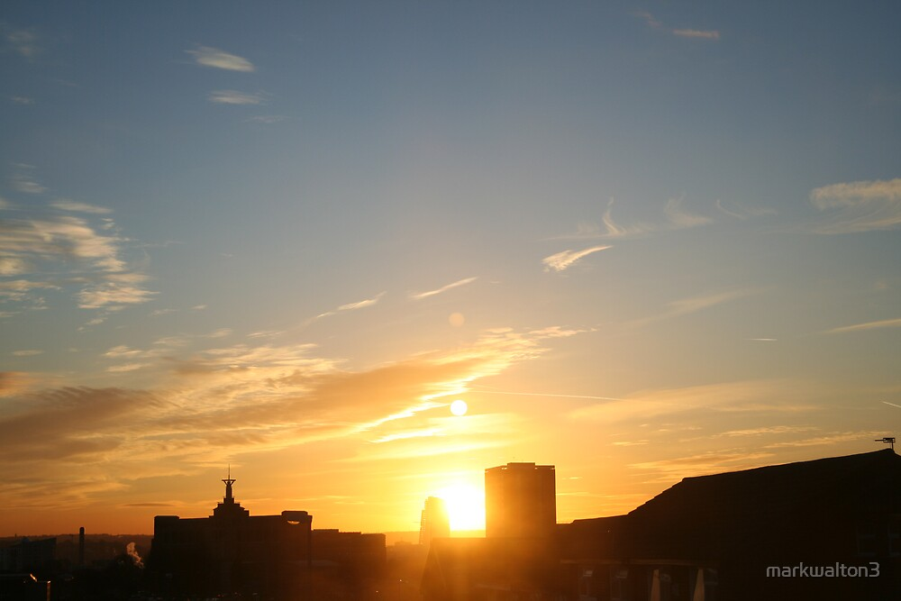 Leeds Sunset by markwalton3
