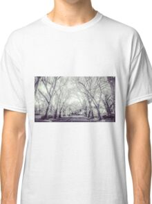 Tree Lined Rural Street Classic T-Shirt