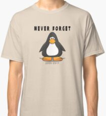 Club Penguin Never forget Classic T-Shirt
