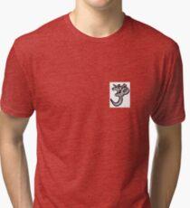 symbole om aum univers hindous hindouisme ohm Tri-blend T-Shirt