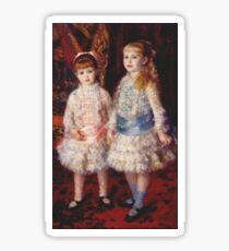 Auguste Renoir - Pink And Blue 1881 Sticker