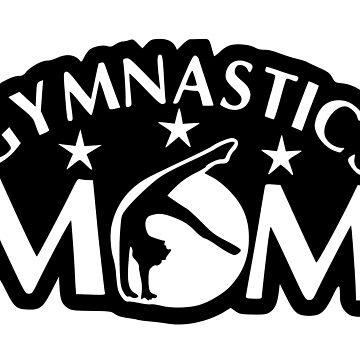 Gymnastics Mom Silhouette Design by SnappyBrick