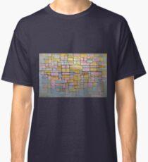 Piet Mondrian Composition No V Classic T-Shirt
