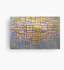 Piet Mondrian Composition No V Canvas Print