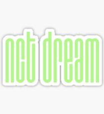 NCT DREAM Logo - Green Sticker