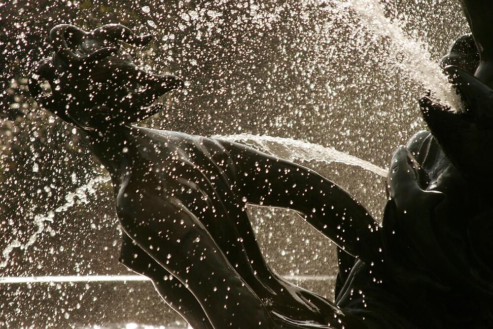 Water Statue by Matthew Weaver