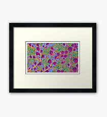 50 Fifty Figs Painting Framed Print