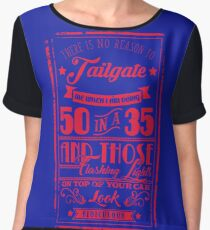 50 in a 35 (RED) - Cloud Nine Edition Chiffon Top