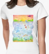Pokemon - Sunset Lake T-Shirt