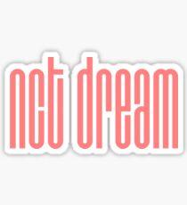 NCT DREAM Logo -  Pink Sticker
