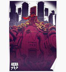 Tetsuo - Akira Poster