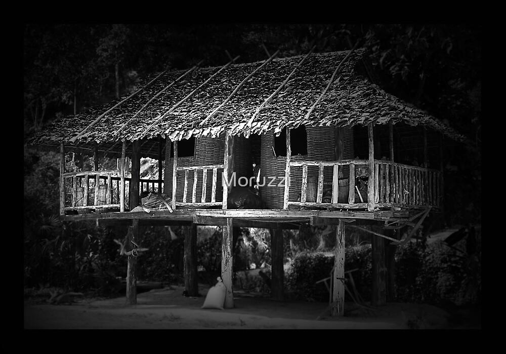Tribe Huts by Moruzzi