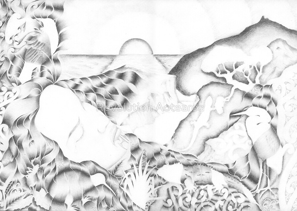 Papatuanuku - Earth Mother by Revolution Aotearoa