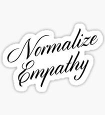 Pegatina Normalizar la Empatía