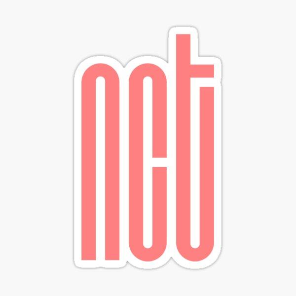 NCT Logo - Pink Sticker