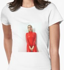 Miss Beyla Hughes Latex Leder PVC Fetisch Model T-Shirt