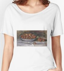 Auguste Renoir - Still Life With Strawberries, 1914 Women's Relaxed Fit T-Shirt