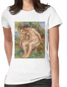 Auguste Renoir - Reclining Nude Womens Fitted T-Shirt