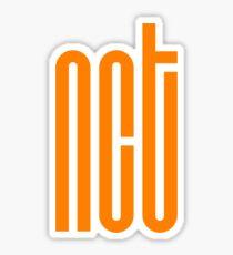 NCT Logo - Orange Sticker