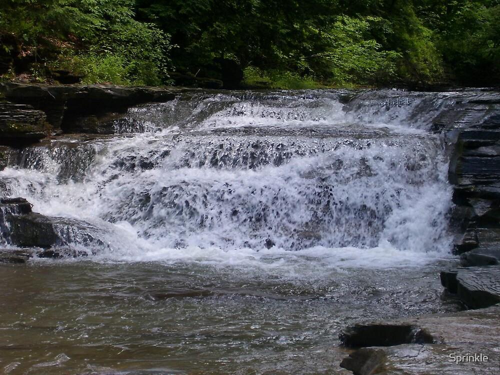 Stoneybrook Waterfall by Sprinkle