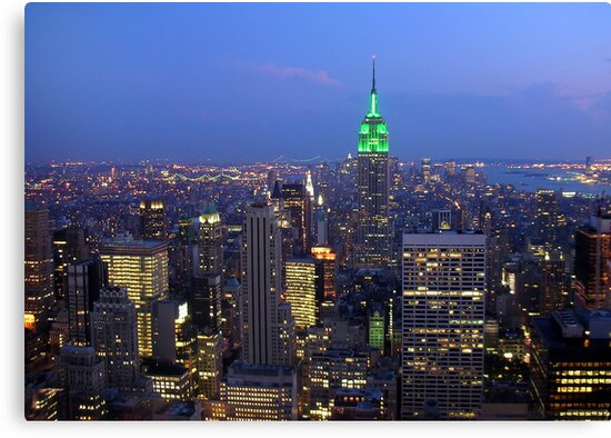 New York City skyline by takefive